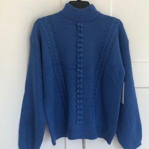 BNWT RedDress boutique Blue Sweater